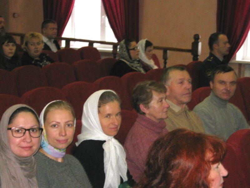 Наша делегация на Рождественских чтениях