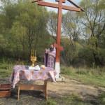 Поклонный крест установлен в с. Толмачево